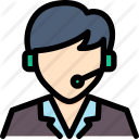 man in headset